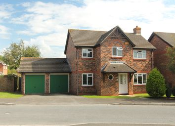 Thumbnail 4 bed detached house for sale in Myrrfield Road, Bishopdown Farm, Salisbury