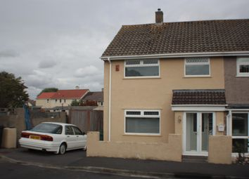 Thumbnail 3 bed end terrace house for sale in Geoffrey Close, Highridge, Bristol