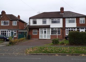 Thumbnail 3 bed semi-detached house for sale in Delves Green Road, Walsall, West Midlands