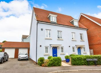 Thumbnail 3 bed town house for sale in Lobelia Lane, Cringleford, Norwich