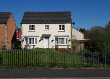 Thumbnail 4 bed detached house for sale in Cae Ffwrness, Burry Port, Carmarthenshire.