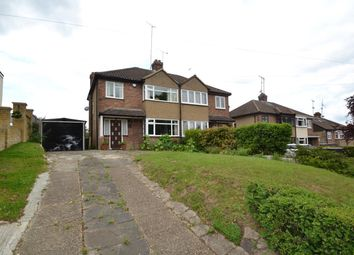 Thumbnail 3 bed semi-detached house for sale in Pecks Hill, Nazeing, Waltham Abbey