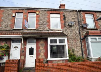 Thumbnail 3 bed terraced house for sale in Coldbrook Road East, Barry
