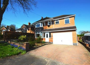 Thumbnail 4 bed detached house for sale in Audley Place, Westlands, Newcastle