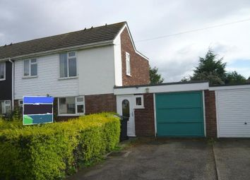 Thumbnail 3 bed semi-detached house to rent in White Lodge Park, Shawbury, Shrewsbury