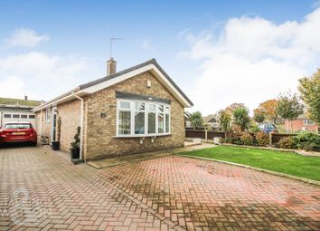 Thumbnail 2 bed detached bungalow for sale in Hill Avenue, Gorleston, Great Yarmouth