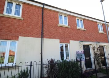 Thumbnail 3 bed terraced house for sale in Campion Way, Bridgwater