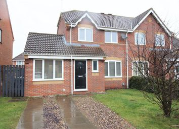 Thumbnail 4 bedroom semi-detached house for sale in Winstanley Road, Dussindale, Norwich