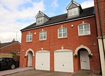 Thumbnail 3 bed town house for sale in Chester Road North, Kidderminster