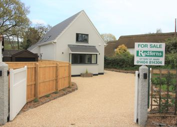 Thumbnail 3 bed detached house for sale in Tipton Vale, Metcombe, Ottery St. Mary
