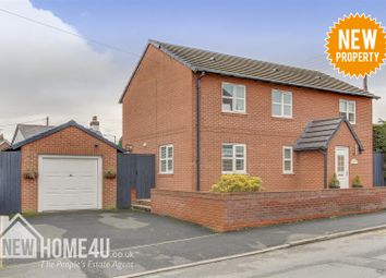 Thumbnail 3 bedroom detached house for sale in Knowle Lane, Buckley