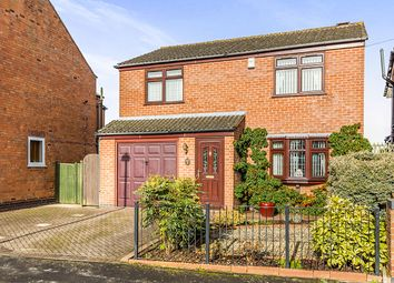 Thumbnail 3 bedroom detached house for sale in Keats Lane, Earl Shilton, Leicester