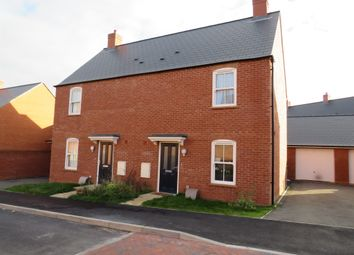 Thumbnail 3 bed semi-detached house for sale in Chaplins Drive, Roade, Northamptonshire