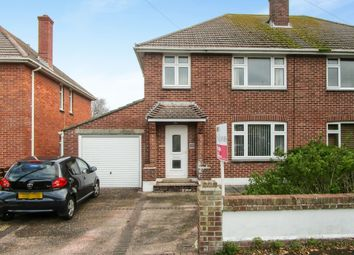 Thumbnail 3 bed semi-detached house for sale in Fraser Avenue, Weymouth