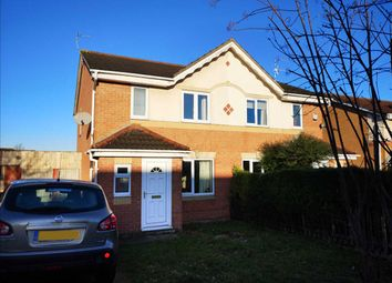 Thumbnail 3 bed semi-detached house for sale in Boynton Road, Leicester