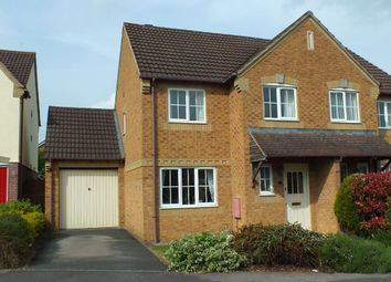 Thumbnail 3 bed semi-detached house for sale in Pavely Gardens, Paxcroft Mead, Trowbridge, Wiltshire