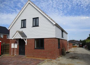 Thumbnail 3 bed detached house for sale in Fosse Close, Enderby, Leicester