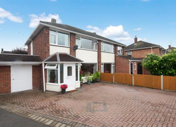 Thumbnail 3 bed semi-detached house for sale in Leighton Close, Leamington Spa