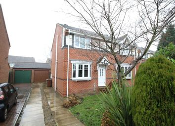 Thumbnail 3 bed semi-detached house for sale in Hillthorpe Court, Leeds