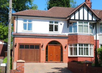 Thumbnail 6 bed semi-detached house for sale in Park Road, Prestwich, Manchester