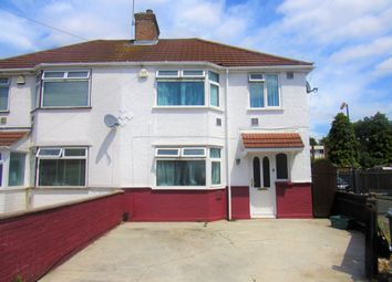 Thumbnail 3 bed semi-detached house for sale in Waye Avenue, Hounslow