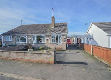 Thumbnail 2 bed semi-detached bungalow for sale in Chapel Street, Crowland, Peterborough