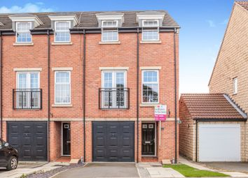 Thumbnail 3 bed town house for sale in Lyng Court, Knottingley