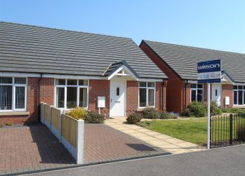 Thumbnail 2 bed semi-detached bungalow for sale in Stratton Road, Bolsover, Chesterfield