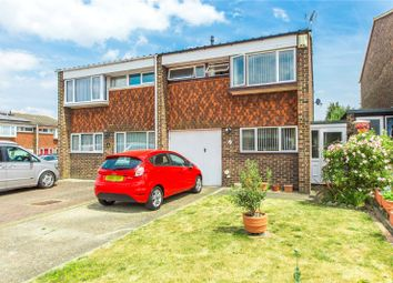 Thumbnail 3 bed semi-detached house for sale in Ivy Close, Gravesend, Kent