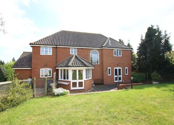 Thumbnail 5 bed detached house for sale in Hall Lane, Witnesham, Ipswich, Suffolk