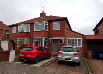 Thumbnail 4 bed semi-detached house for sale in Heathdale Gardens, High Heaton, Newcastle Upon Tyne