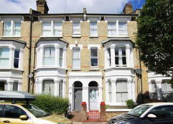 Thumbnail 3 bed flat to rent in Davisville Road, London