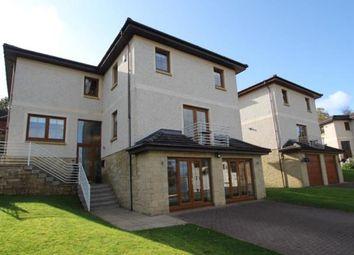 Thumbnail 4 bed detached house for sale in Dennistoun Road, Langbank, Renfrewshire