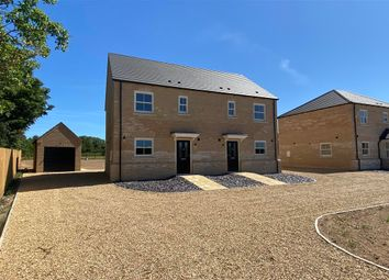 Thumbnail 3 bed semi-detached house for sale in Jensons Way, Methwold Road, Whittington, King's Lynn