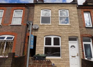 Thumbnail 2 bed terraced house to rent in Spencer Road, Luton, Bedfordshire