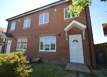 Thumbnail 3 bed semi-detached house to rent in Ashbank Place, Pyms Lane, Crewe, Cheshire