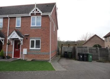 Thumbnail 2 bed end terrace house to rent in Foxglove Rise, Maidstone