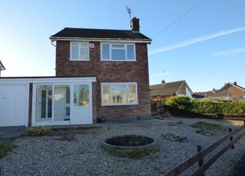 Thumbnail 3 bed link-detached house for sale in Brailsford Road, Wigston, Leicestershire