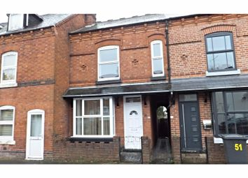 Thumbnail 2 bed terraced house to rent in Birchfield Road, Redditch