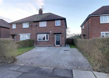 Thumbnail 3 bed semi-detached house for sale in Marshfield Avenue, Crewe