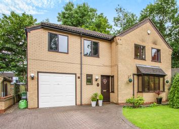 Thumbnail 5 bedroom detached house for sale in Moores Close, Wigston, Leicester