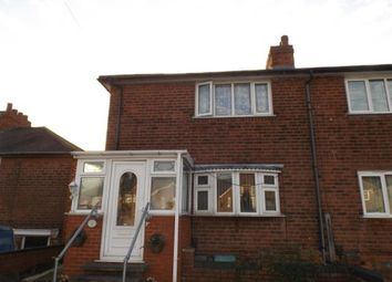 Thumbnail 3 bed semi-detached house for sale in Lime Tree Road, Ward End, Birmingham, West Midlands