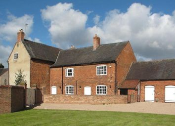 Thumbnail 8 bed farmhouse for sale in The Limes, Main Street, Breedon-On-The-Hill, Derby, Derbyshire