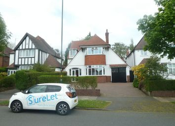 Thumbnail 4 bedroom detached house to rent in Knightlow Road, Harborne, Birmingham