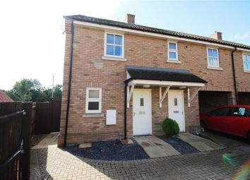 Thumbnail 2 bed end terrace house for sale in Willow Rise, Somersham, Huntingdon