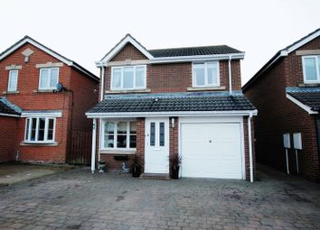 Thumbnail 3 bed detached house for sale in Hampstead Close, South Beach Estate, Blyth