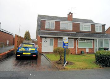 Thumbnail 3 bed semi-detached bungalow to rent in Swinburne Close, Telford
