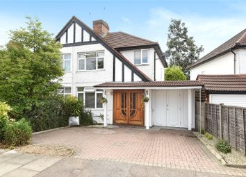 Thumbnail 3 bed semi-detached house for sale in Clewer Crescent, Harrow, Middlesex