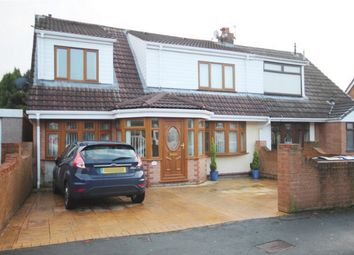 Thumbnail 4 bed semi-detached house for sale in Reepham Close, Wigan, Lancashire