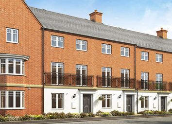 "Thumbnail 3 bedroom terraced house for sale in ""Leeman"" at Broughton Crossing, Broughton, Aylesbury"